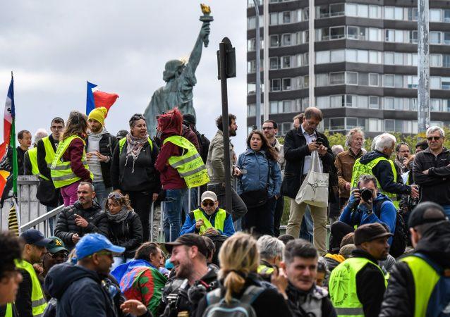 Acte 24 des Gilets jaunes à Paris