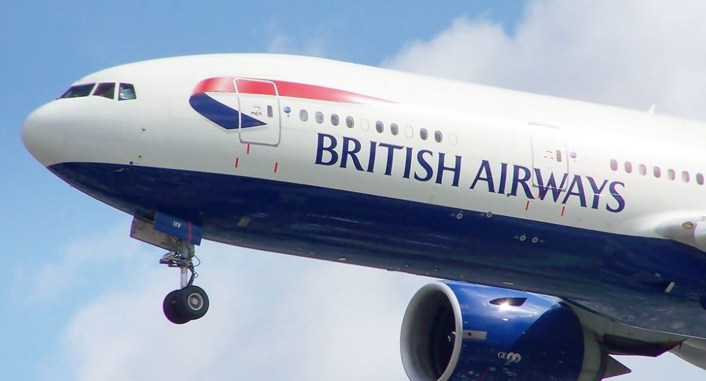 Un Boeing 777 de British Airways