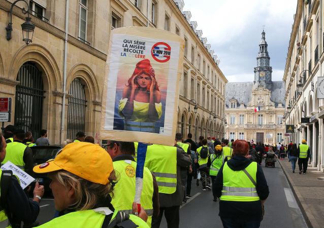 Gilets jaunes à Reims, acte 27, le 18 mai