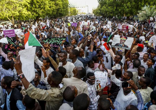 manifestation au Soudan, 31 mai 2019