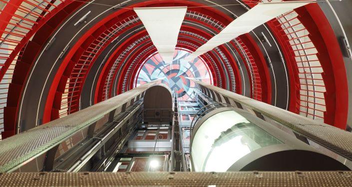 Un ascenseur (image d'illustration)