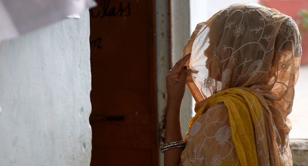 Une femme en Inde