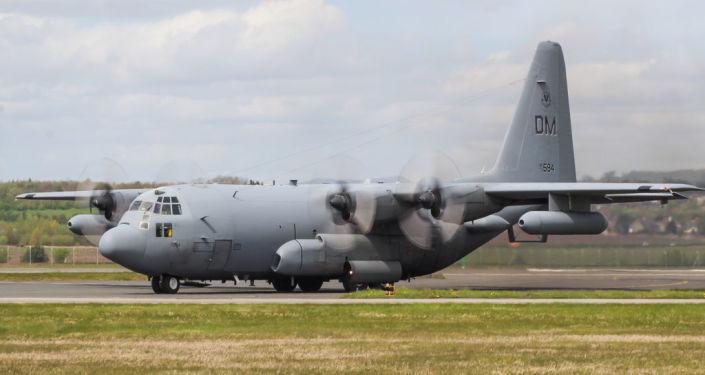 Un EC-130H Compass Call de l'US Air Force