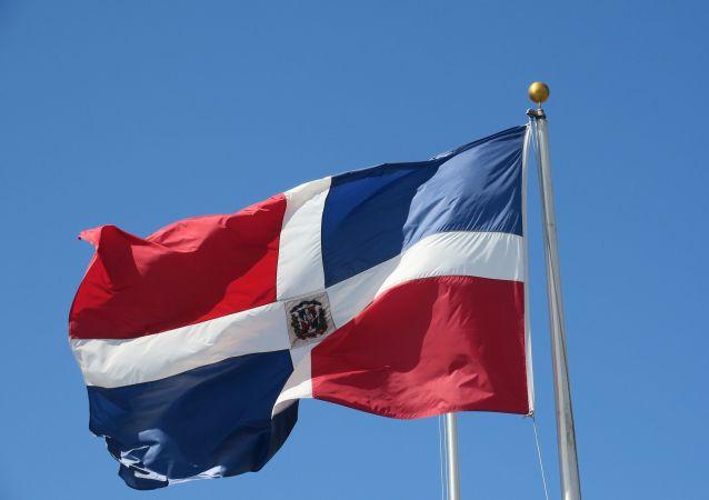 Le drapeau de la République dominicaine