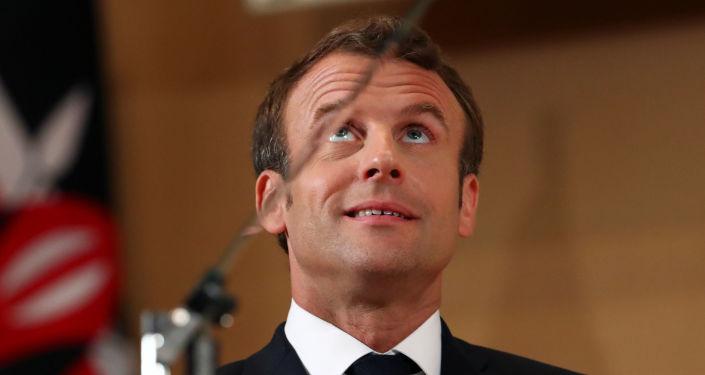 Emmanuel Macron à l'Organisation internationale du travail (OIT) à Genève