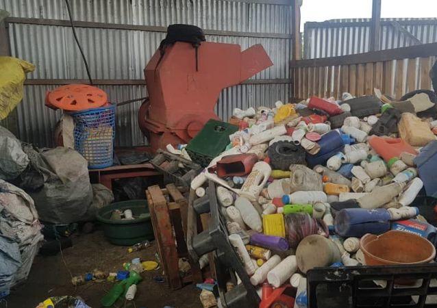 Des déchets plastiques (image d'illustration)