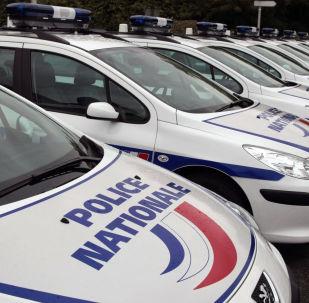 les voitures de police
