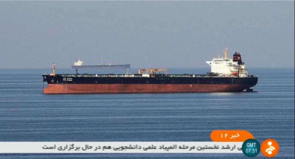 Des pétroliers attaqués dans le Golfe d'Oman, l'un d'eux en flammes