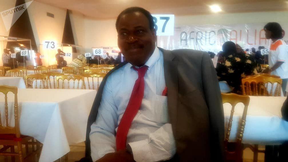 Philippe Edmond Kouamé, consultant en commerce international, communication, finance et bourse