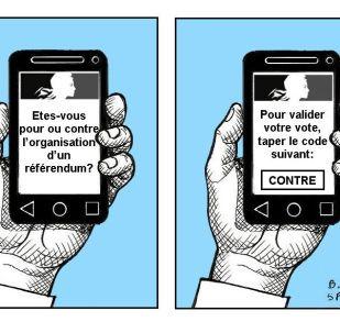 Référendum ADP: la technologie aura-t-elle la peau de la démocratie?