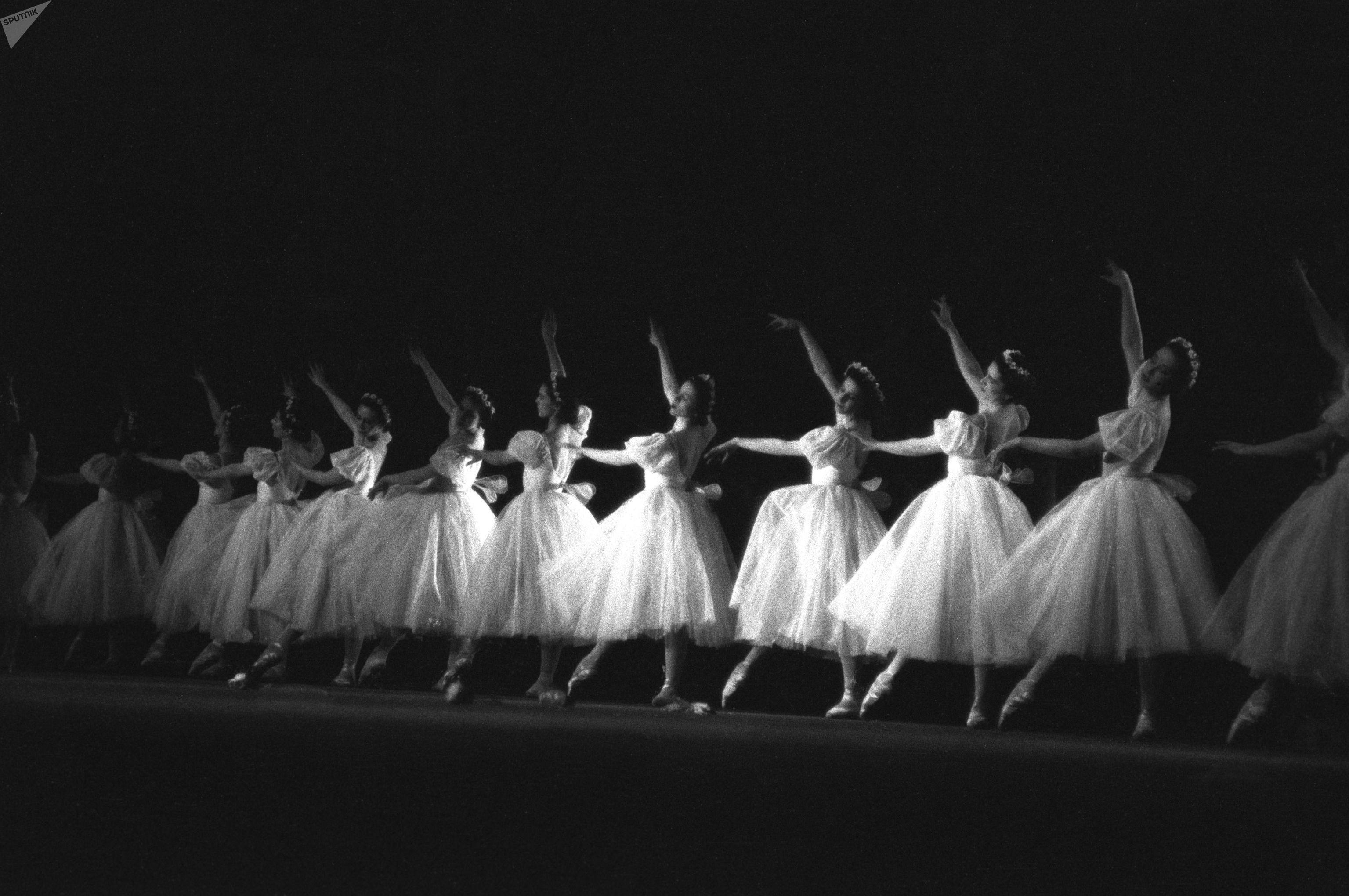 Ballet Giselle au Bolchoï, 1951