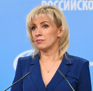 La porte-parole de la diplomatie russe, Maria Zakharova