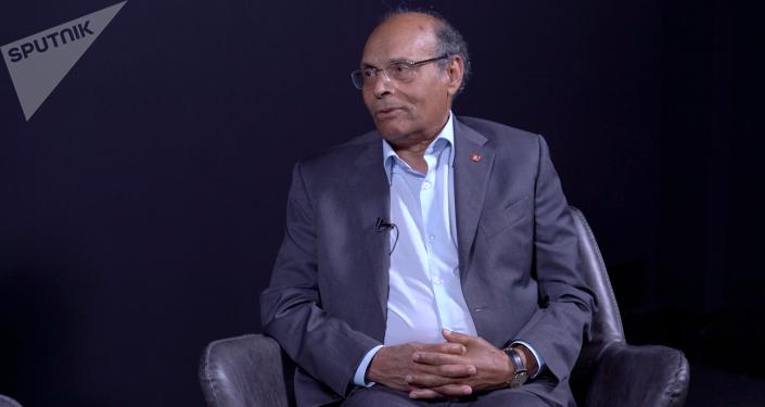 Moncef Marzouki ex-Président de la Tunisie