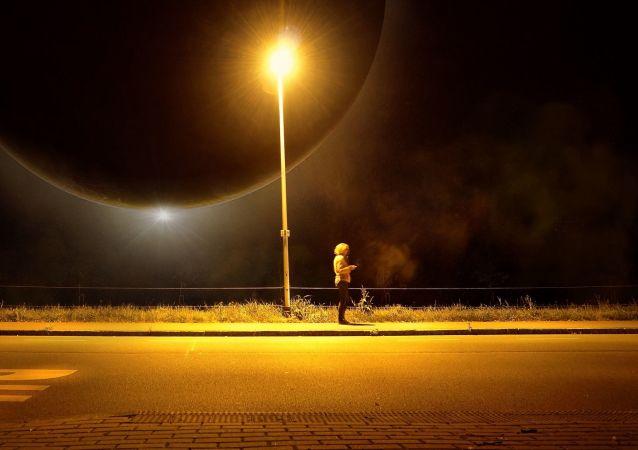 La route dans la nuit