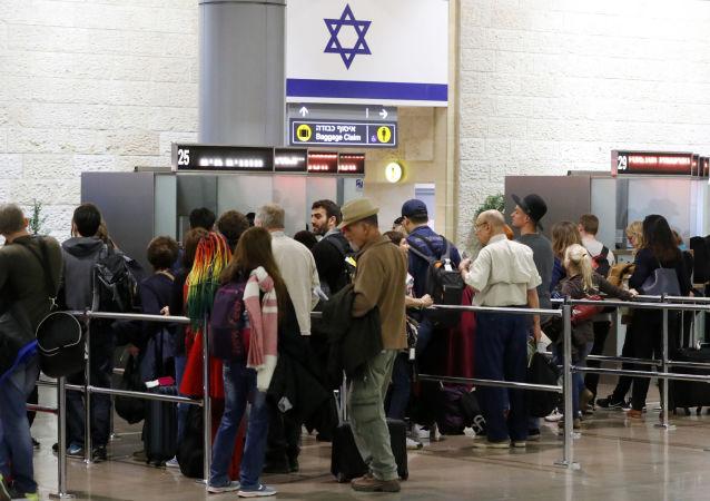 L'aéroport de Tel-Aviv