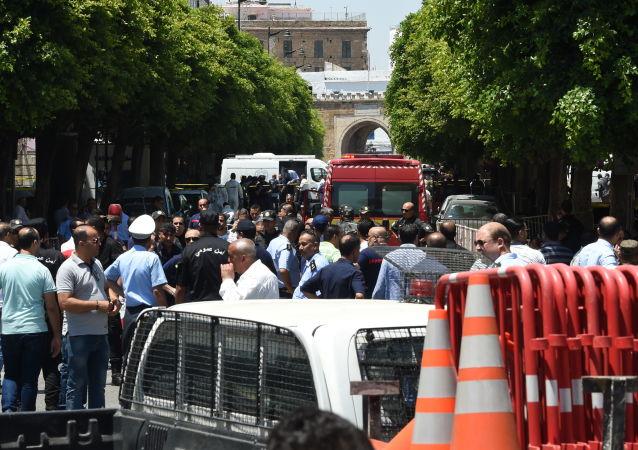 Double attentat contre la police à Tunis, le 27 juin