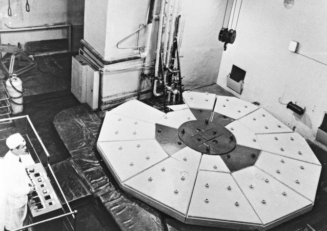 Réacteur de la première centrale nucléaire en URSS