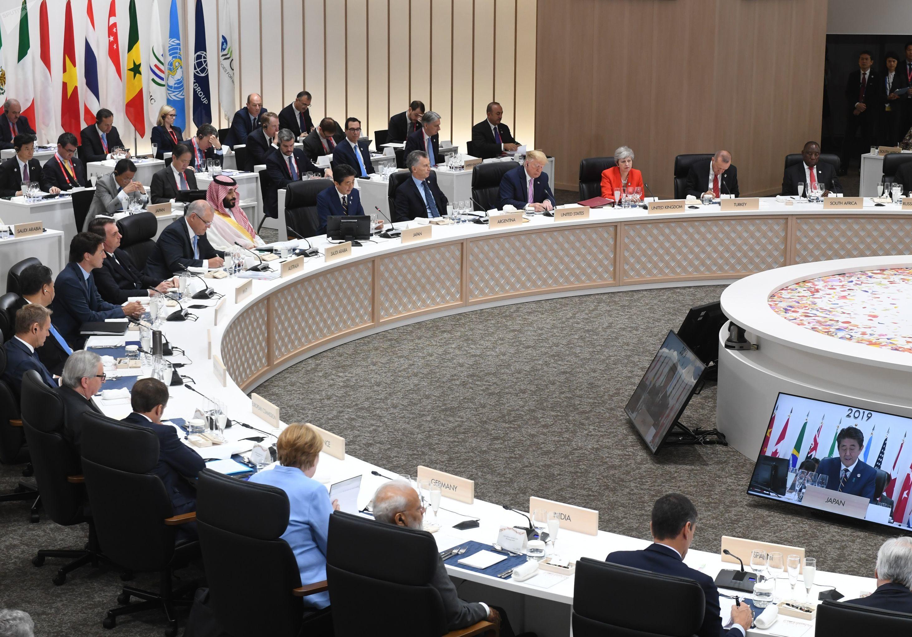 Sommet du G20 à Osaka