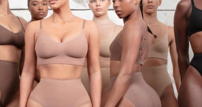 la nouvelle ligne de sous-vêtements de Kim Kardashian