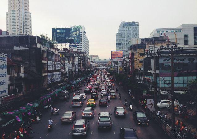 trafic en Inde