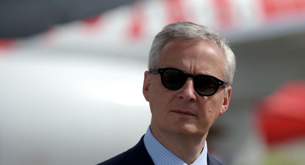 Bruno Le Maire fait une déclaration sur la taxe GAFA après les attaques de Trump