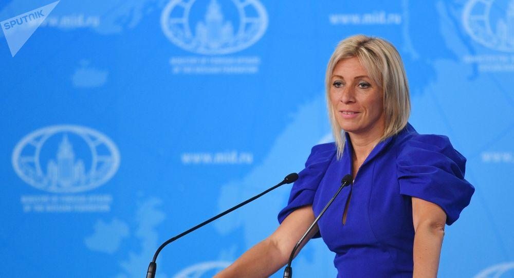 Maria Zakharova, porte-parole du ministère russe des Affaires étrangères