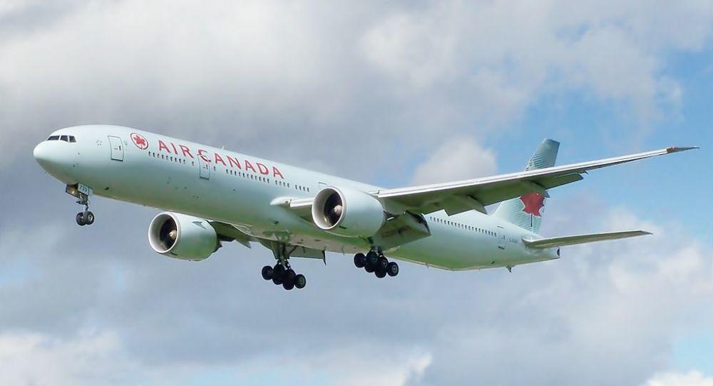 Un Boeing 777 d'Air Canada (archive photo)