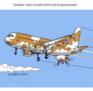 Ecotaxe: l'avion, nouvelle vache à lait du gouvernement?