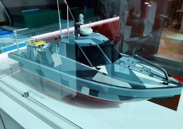 Projet d'une entreprise russe: un bateau robotisé pouvant naviguer dans des endroits radioactifs