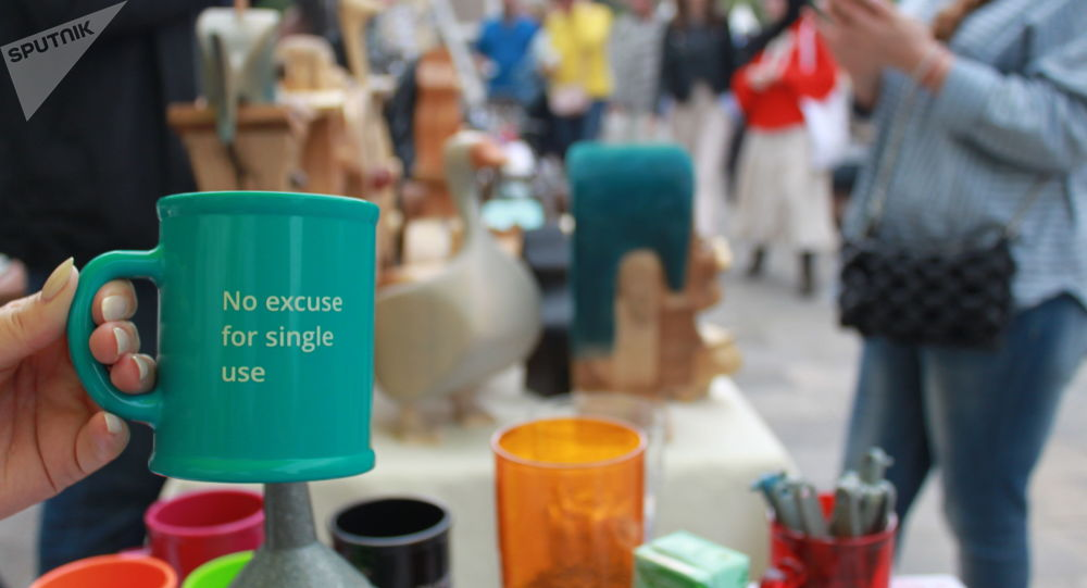 «Aucune excuse pour les produits à usage unique», l'Upcycle Fest à Moscou