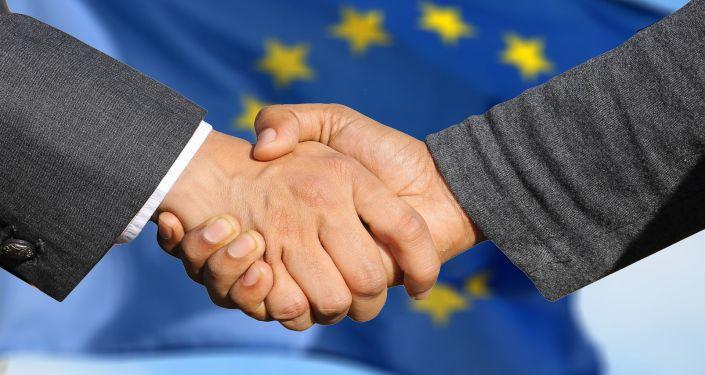 EU Handshake
