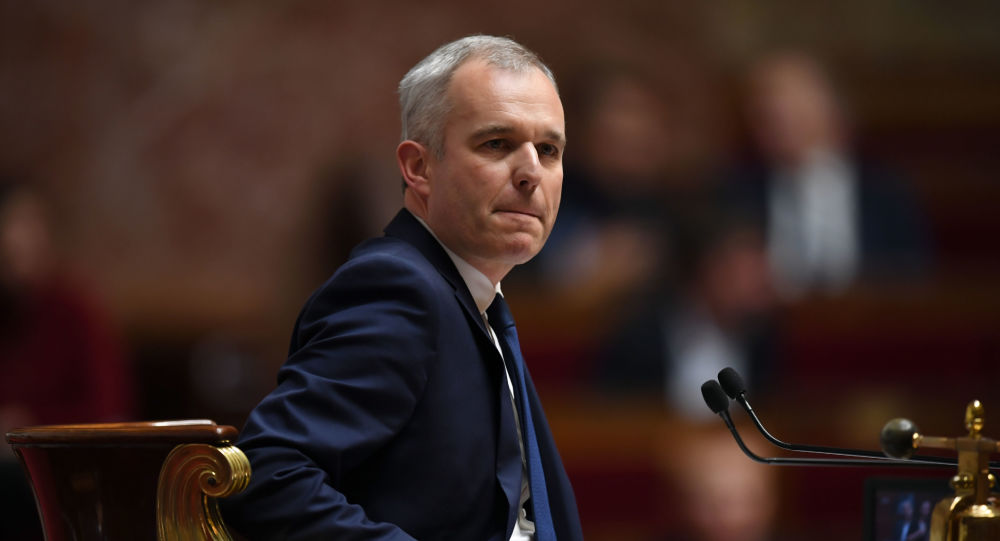 François de Rugy à l'Assemblée nationale (archive photo)