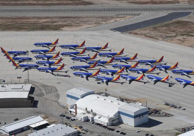Boeing 737 MAX de la Southwest Airline