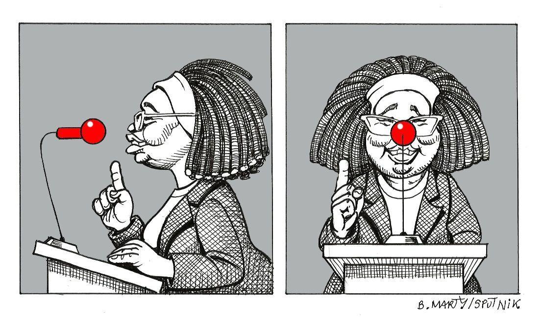 La porte-parole du gouvernement traitée de clown par Nadine Morano