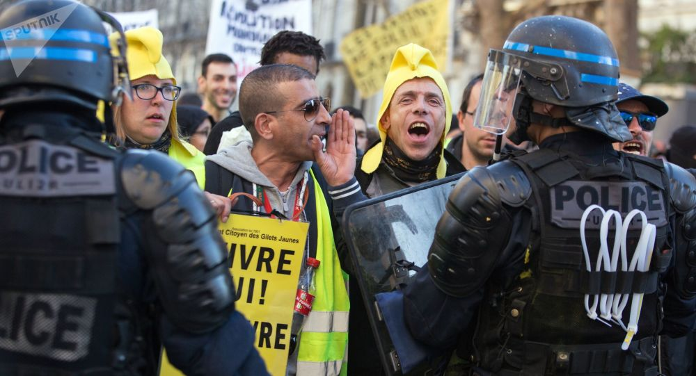 Mobilisation des Gilets jaunes à Paris, archives.