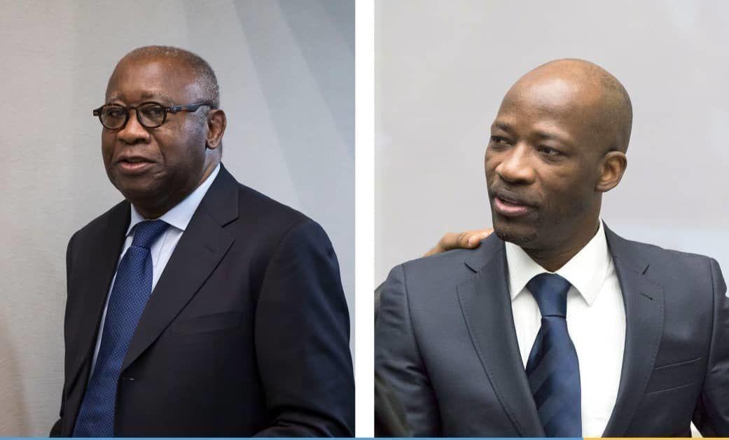L'ancien Président ivoirien Laurent Gbagbo et son coaccusé Charles Blé Goudé