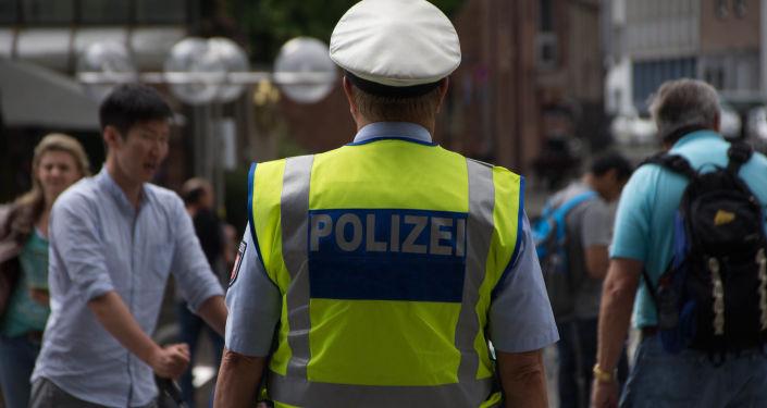 Un policier allemand