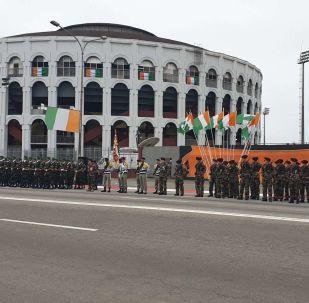 Côte d'Ivoire célébrations de la 59ème fête de l'independance