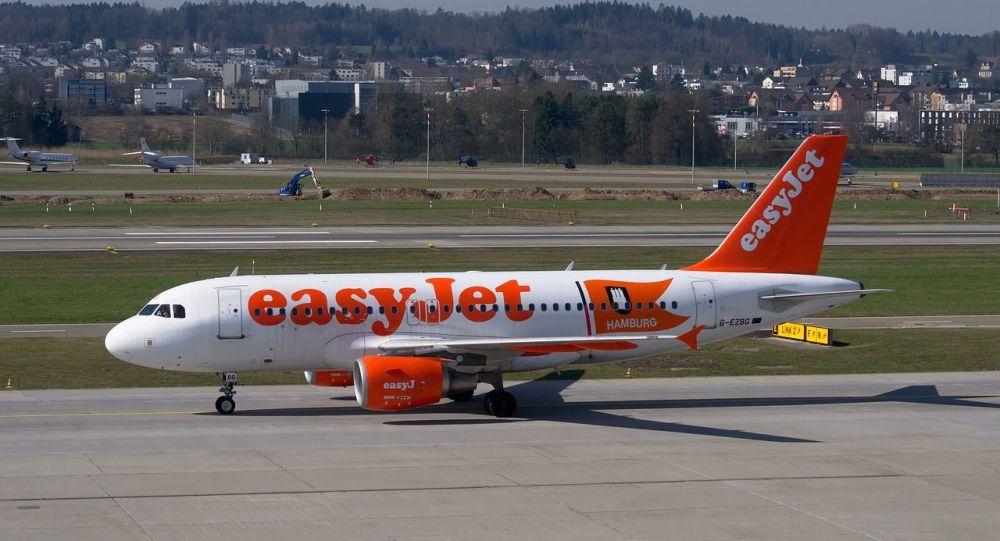 Avion d'easyJet, image d'illustration