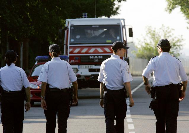 Des policiers à Toulouse, image d'illustration