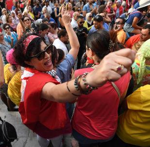 Manifestation pour l'égalité des droits de l'héritage. Tunis