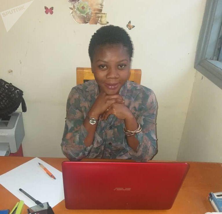 Ange Vanessa Coblan Aka, vice-présidente de l'ONG ORA