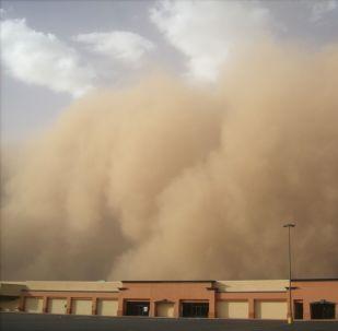 tempête de sable, image d'illustration