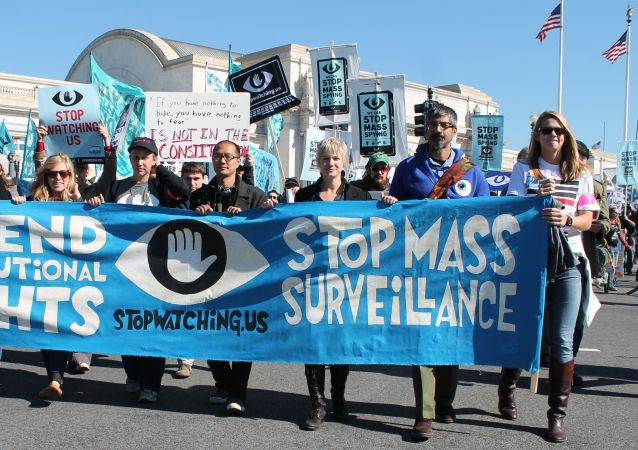 mass surveillance protest