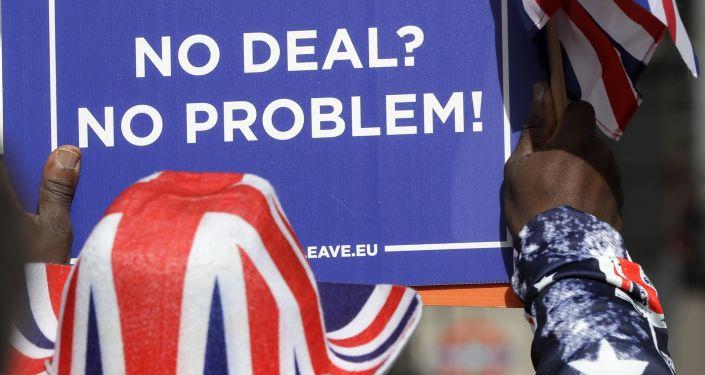 Un partisan du Brexit