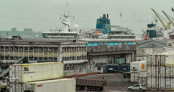Le port de Douala (image d'illustration)