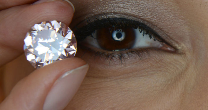 Le diamant rose Martian Pink
