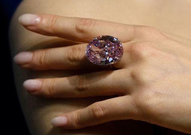 Le diamant Pink Star (archive photo)