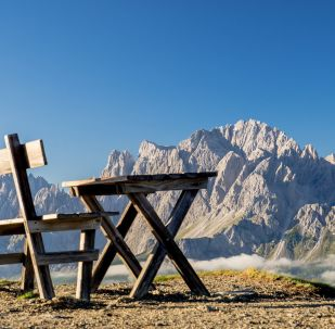 Des montagnes en Italie