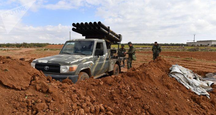 Les positions de l'armée syrienne dans le gouvernorat d'Alep (archive photo)